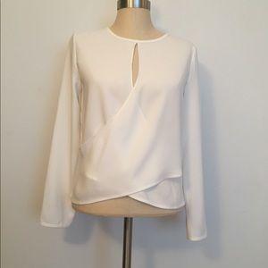 Club Monaco white blouse NWT